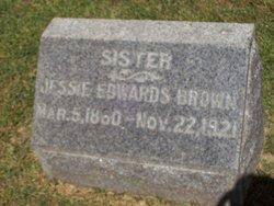 Jessie G. <I>Edwards</I> Brown