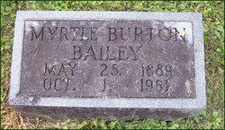 Myrtle <I>Burton</I> Bailey