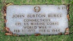 Corp John Burton Burke
