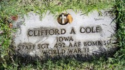 SSGT Clifford A Cole