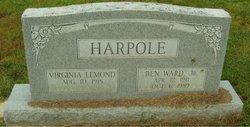 "Ben Ward ""Benny"" Harpole, Jr"