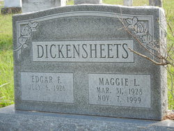 """Maggie Louise """"Dolly"""" <I>Strine</I> Dickensheets"""