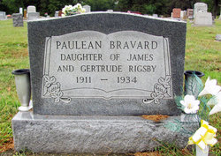 Clara Paulean <I>Rigsby</I> Bravard