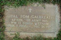 Loyal Tom Galbreath