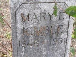 Mary Elizabeth <I>Hedrick</I> Kimble