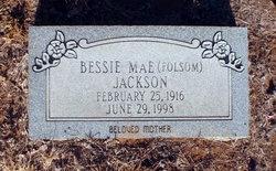 Bessie Mae <I>Folsom</I> Jackson