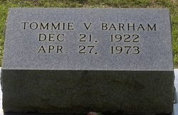 Tommie V <I>Fulton</I> Barham