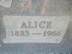 Alice <I>Moss</I> Garsee
