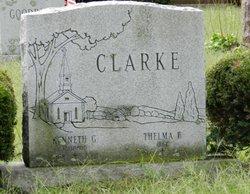 Thelma F. <I>Tucker</I> Clarke