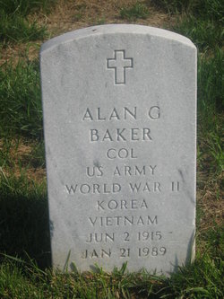 COL Alan Griffith Baker
