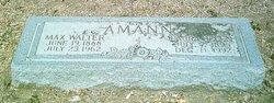 Max Walter Amann, Sr