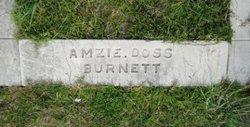 Amzie Ora <I>Doss</I> Burnett