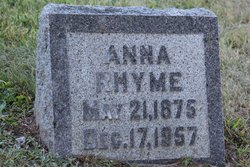 Anna Rhyme