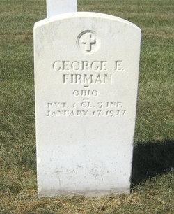 George E Firman