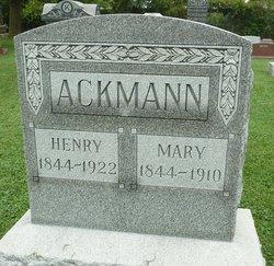 Mary <I>Porep</I> Ackmann