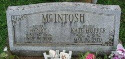 Kate <I>Hopper</I> McIntosh