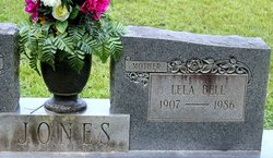 Lela Bell <I>Lee</I> Jones