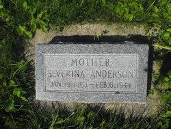 Johanna Severina <I>Pearson</I> Anderson