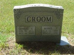 Minnie <I>Johnson</I> Croom