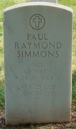 Paul Raymond Simmons