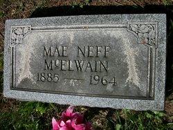 Cora Mae <I>Neff</I> McElwain