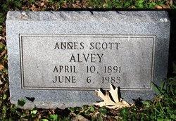 Agnes H. <I>Scott</I> Alvey