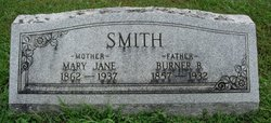 Mary Jane <I>Jennings</I> Smith