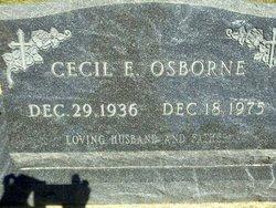 Cecil E Osborne