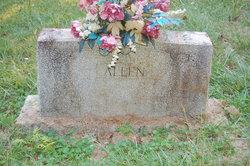 Cora Ethel <I>Carr</I> Allen