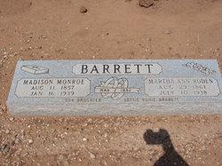 Martha Ann <I>Roden</I> Barrett
