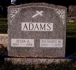 Julia Anne <I>Fitzsimmons</I> Adams