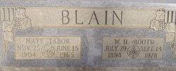 "William Hobson ""Boots"" Blain"