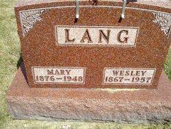Wesley Frederick Lang