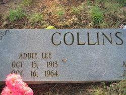 """Adeline Lee """"Addie"""" <I>Lovelace</I> Collins"""