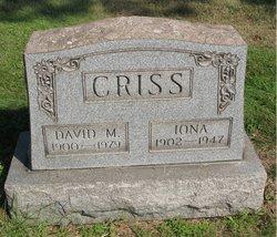 David M Criss
