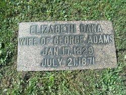 Elizabeth <I>Dana</I> Adams