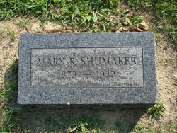 Mary R <I>Fravel</I> Shumaker