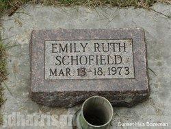Emily Ruth Schofield