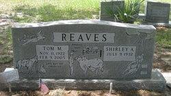 Tom M Reaves