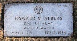 Oswald M Albers
