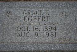 Grace <I>Evans</I> Egbert