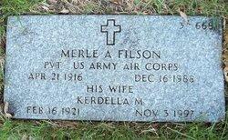 Merle Albert Filson, Jr