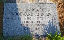 Ann Margaret <I>Woodward</I> Johnson