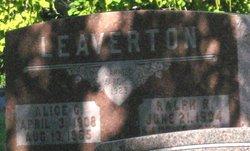 Alice G Leaverton