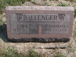 """Jerrmiah J. """"Jerry"""" Ballenger"""