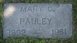 Mary C. <I>Arnst</I> Pauley