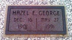 Hazel E. <I>Eplee</I> George
