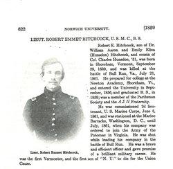 Lieut Robert Emmet Hitchcock