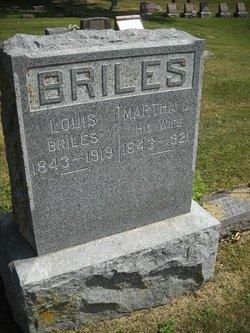 Martha Jane <I>Hogan</I> Briles