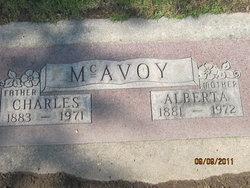 "Alberta ""Birdie"" <I>Gore</I> McAvoy"